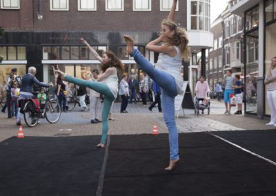 Leger des Heils 'straatoptreden AVIV Dance Company'