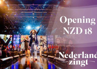 Opening Nederland Zingt Dag